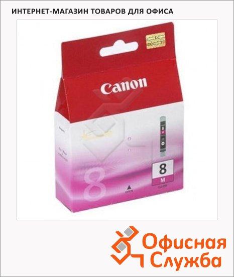 фото: Картридж струйный Canon CLI-8M пурпурный, (0622B024)