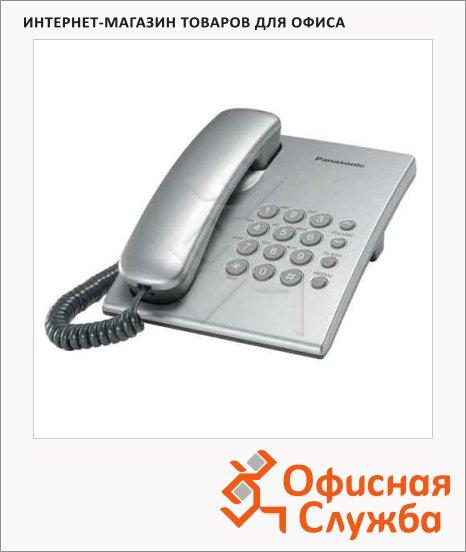 фото: Телефон проводной Panasonic KX-TS2350RUS серебристый