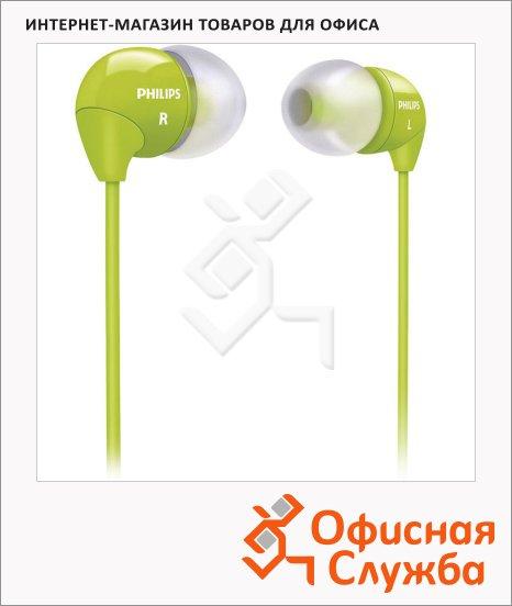 фото: Наушники-вкладыши Philips SHE3590 зеленый 12 Гц-23.5 кГц
