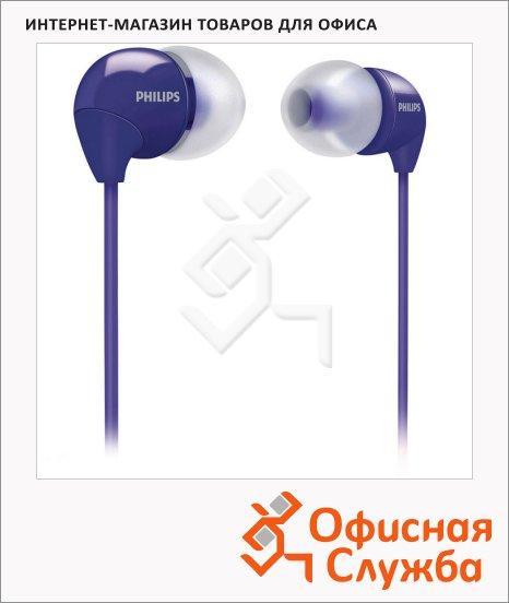 Наушники-вкладыши Philips SHE3590 фиолетовые, 12 Гц-23.5 кГц