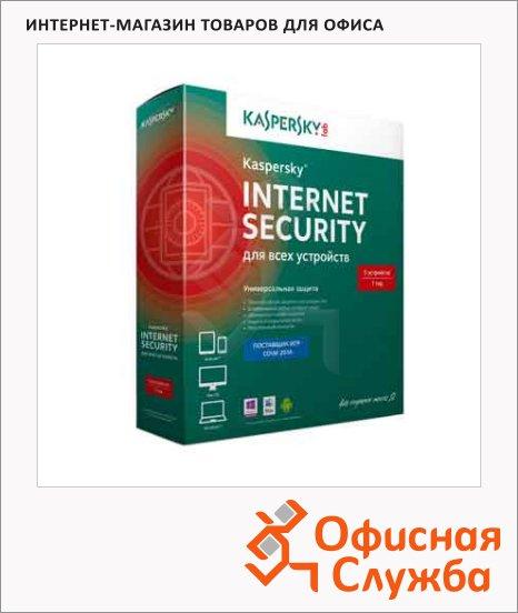 Антивирус Kaspersky Internet Security 5 ПК/1 год
