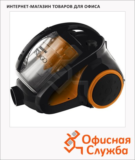 фото: Пылесос с контейнером Scarlett IS-580 1800 Вт черно-оранжевый