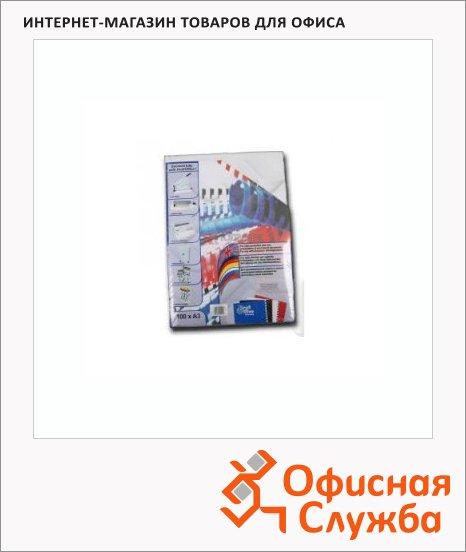Обложки для переплета картонные Profioffice белые, А3, 270 г/кв.м, 100шт, 29021