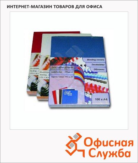 Обложки для переплета картонные Profioffice белые, А4, 270 г/кв.м, 100шт, 29001