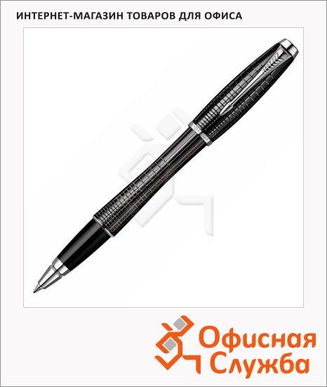 Ручка-роллер Parker Urban Premium T204 F, черная, черный корпус