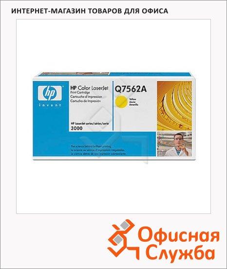 Тонер-картридж Hp Q7562A, желтый