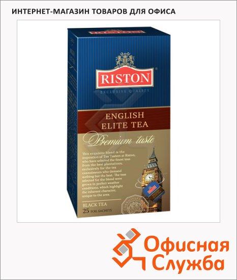Чай Riston English Elite, черный, 25 пакетиков
