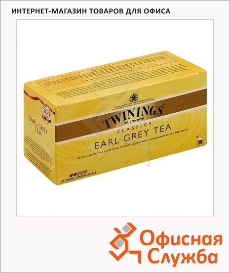 фото: Чай Twinings Earl Grey черный, 25 пакетиков