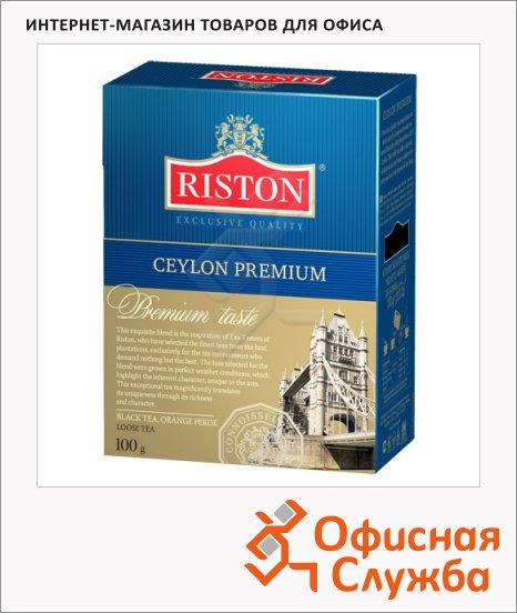 фото: Чай Riston Premium Ceylon листовой, черный, 200 г