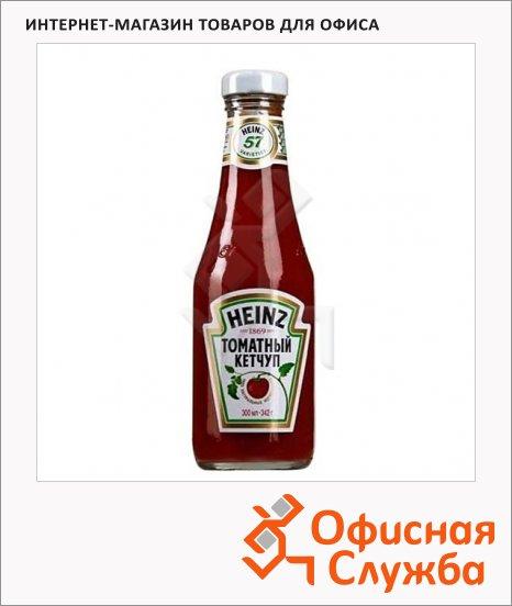 фото: Кетчуп Heinz томатный 342г, стекло