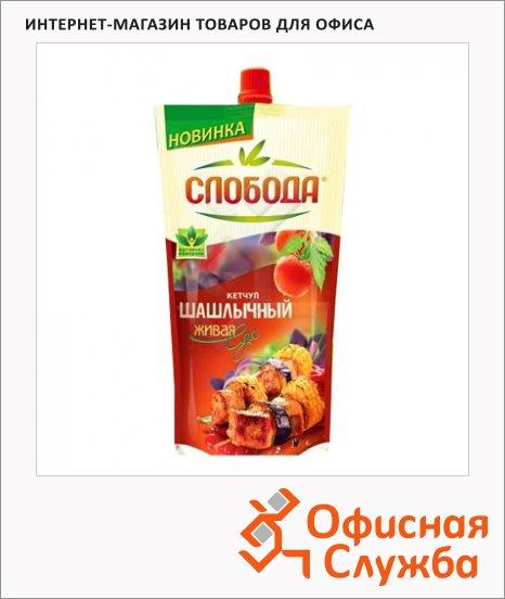 фото: Кетчуп Слобода шашлычный пакет, 350г