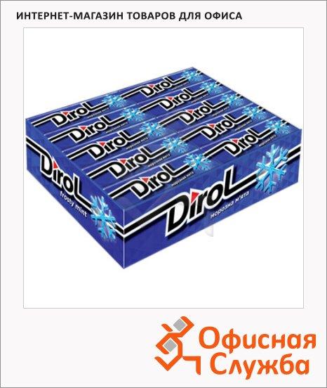 Жевательная резинка Dirol морозная мята, 30уп х 10шт