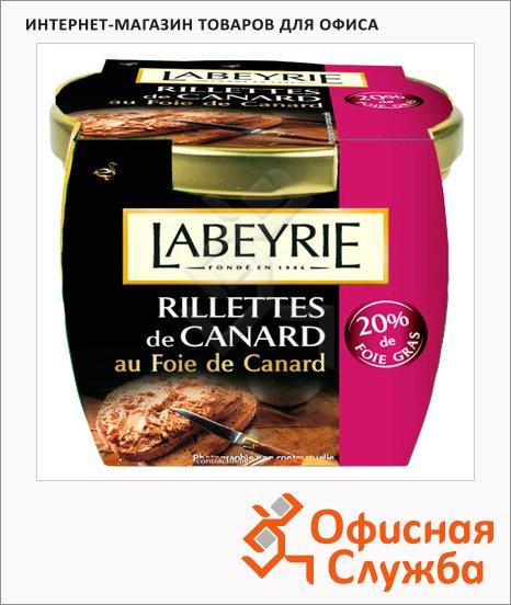 Рийет Labeyrie с 20% фуа-гра утиный, 170г