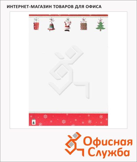 Дизайн-бумага Decadry Classic Collection Рождественские украшения, А4, 90г/м2, 12 листов