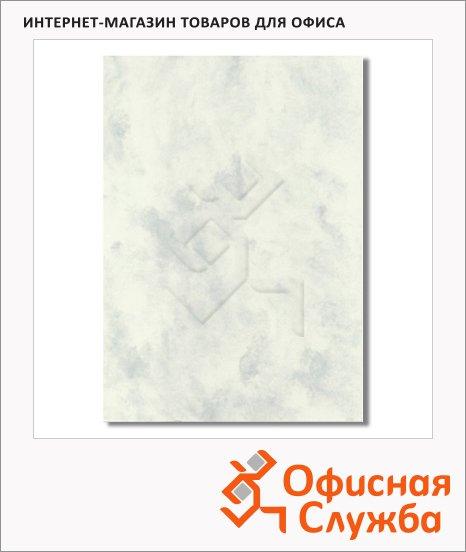 Дизайн-бумага Decadry Classic Collection Мрамор серый с текстурой, А4, 95г/м2, 25 листов