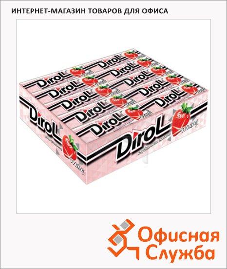 Жевательная резинка Dirol клубника, 30уп х 10шт