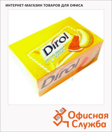 Жевательная резинка Dirol арбуз-дыня, 100 уп х 2шт