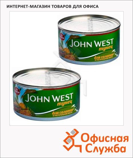 фото: Тунец John West в растительном масле 185г