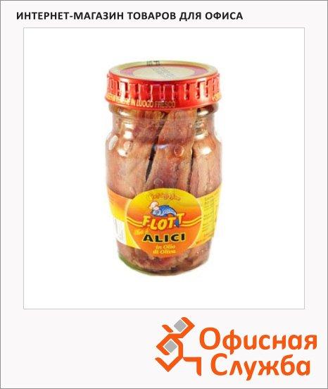 Анчоусы Flott в оливковом масле, 78г