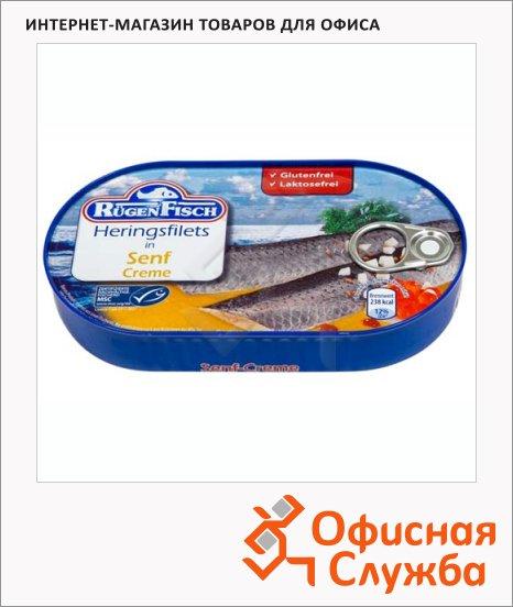Филе сельди Rugen Fisch в горчичном соусе