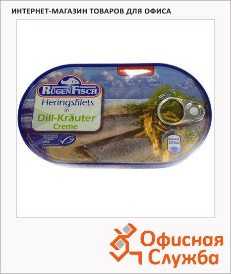 Филе сельди Rugen Fisch с травами, 200г