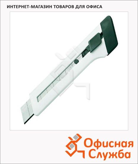 фото: Нож канцелярский Edding Е-M18 18 мм белый