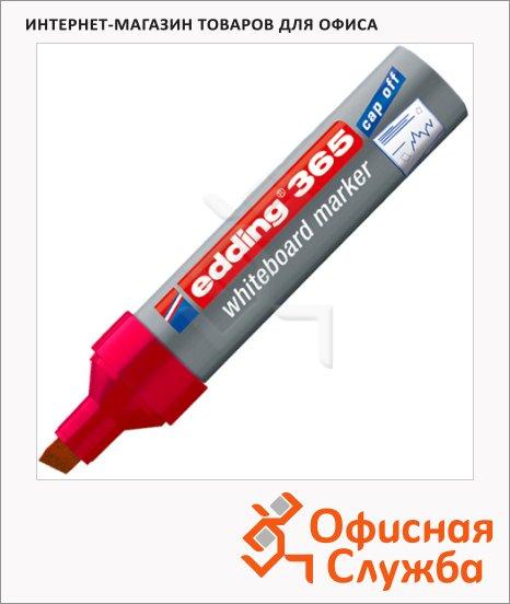 Маркер для досок Edding 365 красный, 2-7мм, скошенный наконечник, заправляемый