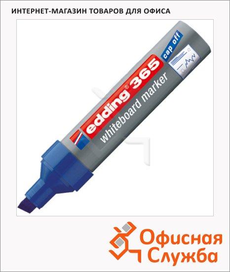 фото: Маркер для досок Edding 365 синий 2-7мм, скошенный наконечник, заправляемый