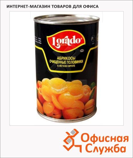 Консервированные фрукты Lorado абрикосы в легком сиропе, 425г