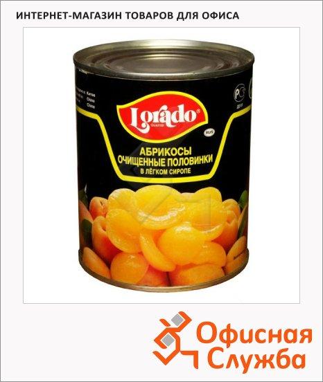 Консервированные фрукты Lorado абрикосы в легком сиропе, 820г