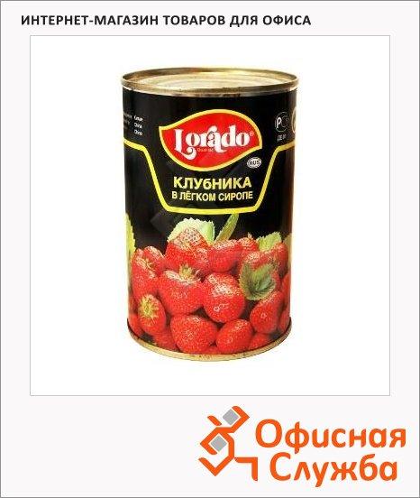 фото: Консервированные ягоды Lorado клубника в легком сиропе 410г