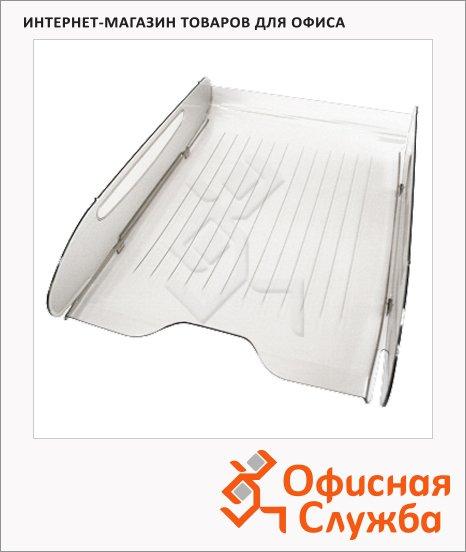Лоток горизонтальный для бумаг Оскол-Пласт Элегант А4, белый, 9024