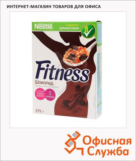 фото: Готовый завтрак Fitness с темным шоколадом 275г