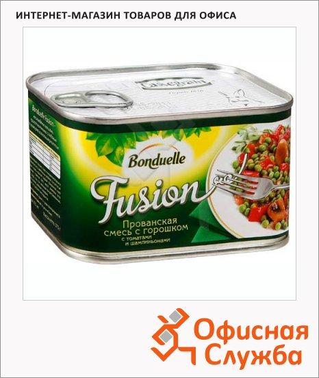 фото: Консервированные овощи Bonduelle Fusion Прованская с горошком 375г