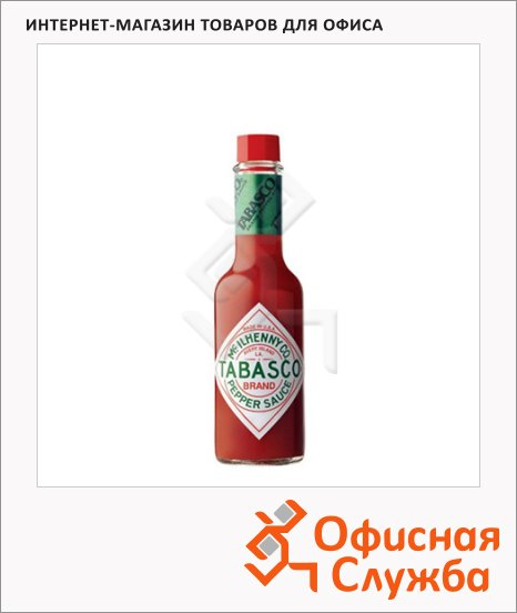 Соус Tabasco с красным перцем, 60мл