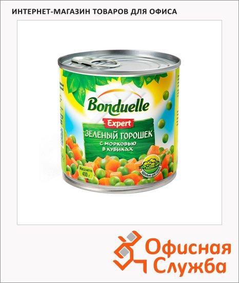фото: Зеленый горошек Bonduelle Expert с морковью в кубиках 400г