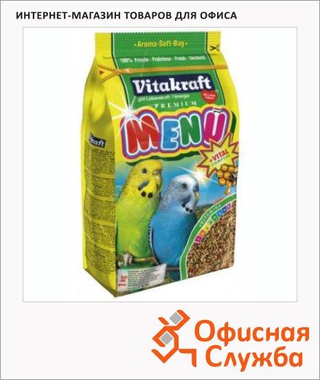 фото: Корм для попугаев Vitakraft Menu Vital для волнистых попугаев 1кг
