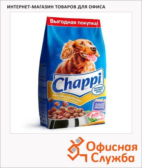 Сухой корм для собак Chappi Сытный Мясной обед мясное изобилие с овощами и травами, 2.5кг