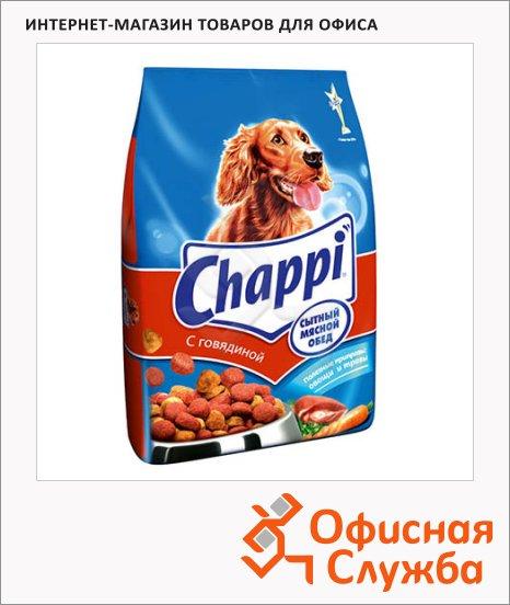 Сухой корм для собак Chappi Сытный Мясной обед с говядиной по-домашнему с овощами и травами, 2.5кг