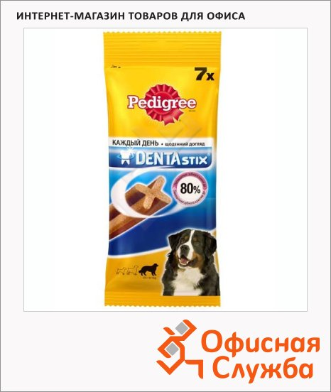 фото: Лакомство для собак Pedigree Denta Stix 270г