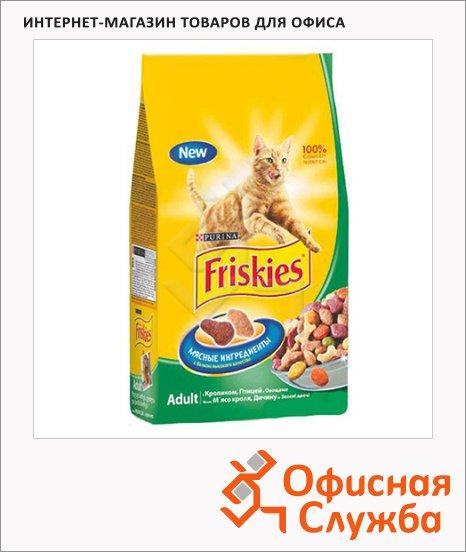 фото: Сухой корм для кошек Friskies с кроликом и овощами 2кг