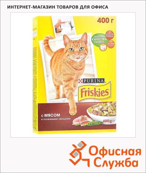 Сухой корм для кошек Friskies с мясом и овощами, 400г