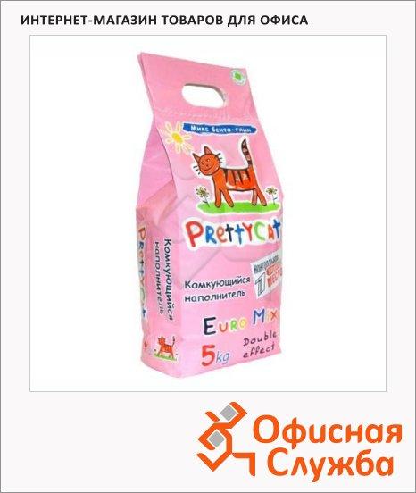 фото: Наполнитель для кошачьего туалета Prettycat Euro Mix комкующийся 5л