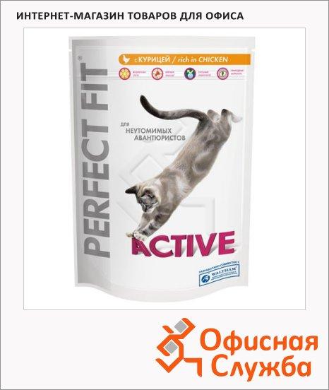 фото: Сухой корм для кошек Active с курицей 750г