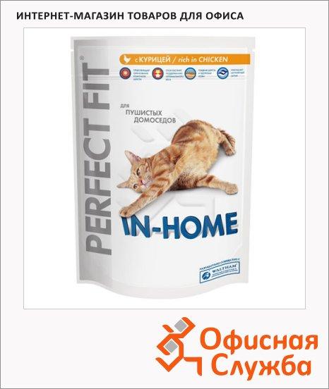 Сухой корм для кошек Perfect Fit In-home с курицей, 750г