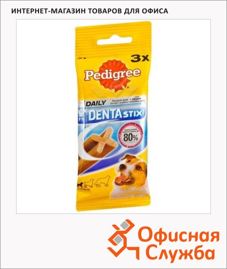 фото: Лакомство для собак Pedigree Denta Stix 77г