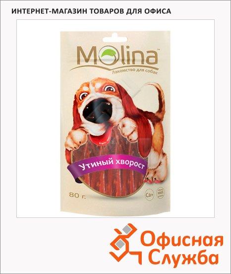 фото: Лакомство для собак Molina утиный хворост 80г