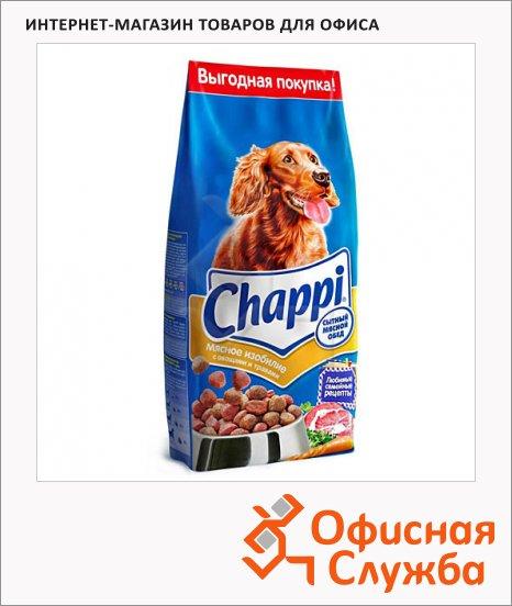 Сухой корм для собак Chappi Сытный Мясной обед мясное изобилие с овощами и травами, 8.5кг
