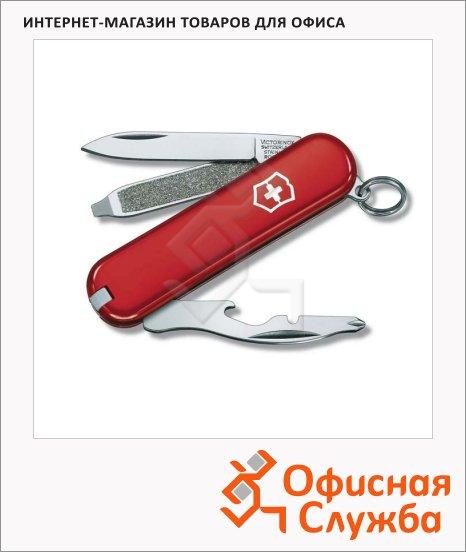 Нож Victorinox Rally 58мм, 9 функций, красный