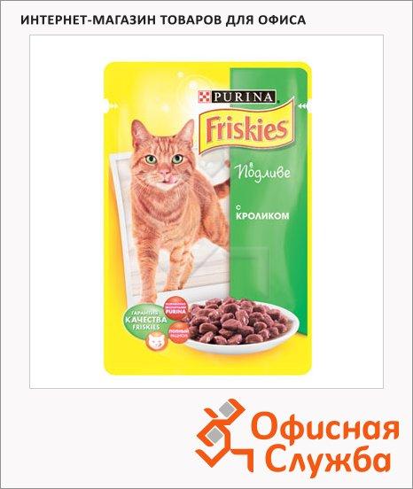 Влажный корм для кошек Friskies в подливе с кроликом, 100г